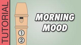 Grieg - Morning Mood - Recorder Notes Tutorial