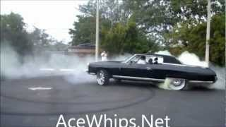 AceWhips.NET- Black Chevy Donk on 24