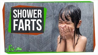 Why Do Your Farts Smell Worse in the Shower?