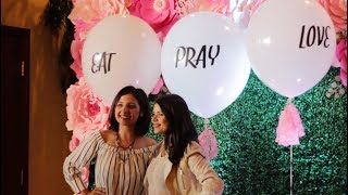 """Ladies Who Lunch® """"Eat Pray Love"""" Event Highlights"""