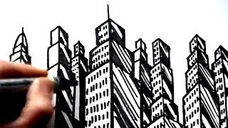 How To Draw Buildings: Skyscrapers