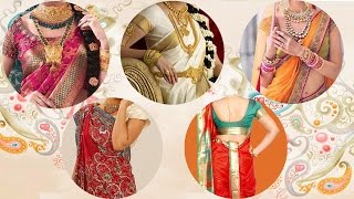 5 Different Styles of Wearing Saree For Wedding  Look Slim & Tall  Tips & Ideas to Drape Saree Pallu