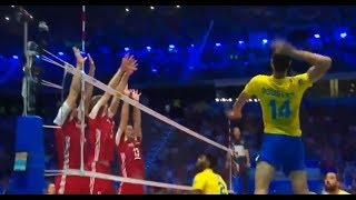 Monster Block | Polska vs Brazil | World championship 2018 | THE FINALS