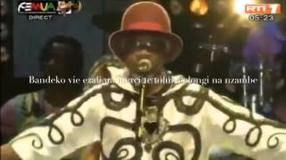 Papa Wemba's last Concert complets his life in  Abidjan