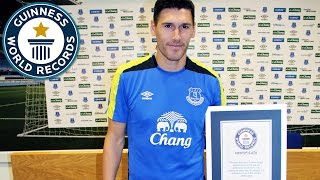Gareth Barry - Most starts for a Premier League football player