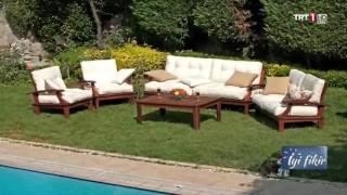 Trt iyi fikir Bahçe ve balkon dekorasyonu/iç mimar Meral Akçay
