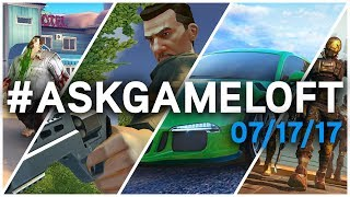 #AskGameloft LIVE – Your Questions Answered 07/17/17