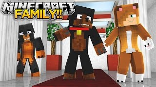 Minecraft FAMILY - IS DAD CHEATING ON MOM???? - donut the dog minecraft roleplay