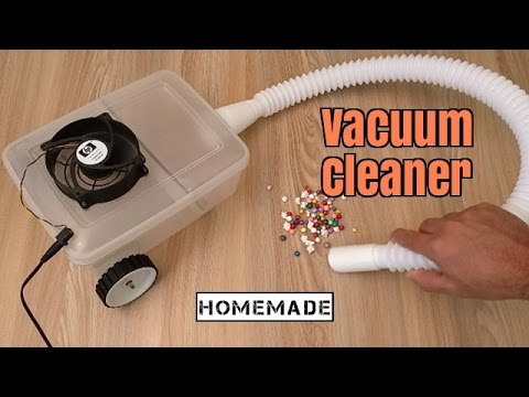 How to Make a Vacuum Cleaner - Homemade