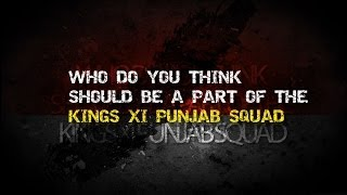 IPL Auction Fever | KingsXIPunjab | IPL7