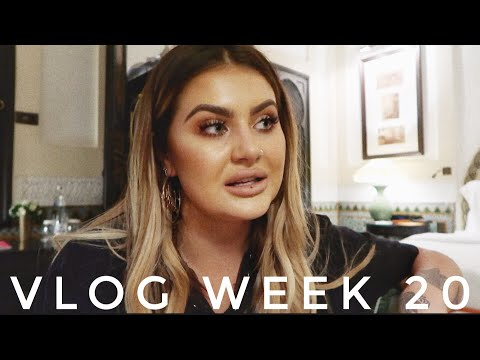 VLOG WEEK 20 - THEY LOST MY SUITCASE AND STOLE MY MAKEUP | JAMIE GENEVIEVE