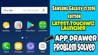 Samsung Galaxy j2 2016 edition latest Touchwiz launcher.