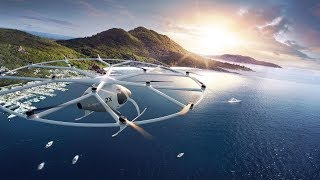 DAIMLER INVESTS $30M IN VOLOCOPTER ELECTRIC FLYING TAXI