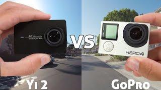 Xiaomi YI 2 4K Action Camera REVIEW vs GoPro (4K)
