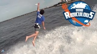 Best Frisbee Catch Ever  - How Ridiculous