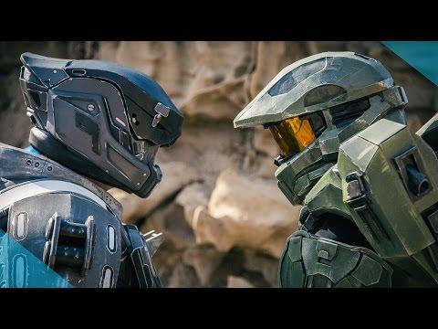 Halo vs Destiny Live Action Battle