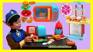JUST LIKE HOME MICROWAVE TOY COOKING SET KITCHEN PLAYSET PLAYDOH PIZZA LITTLE CHEF PAW PATROL CHASE