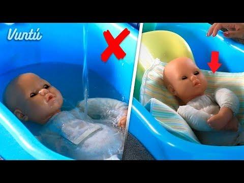 Cosas que Nunca debes hacer al bañar a tu bebé