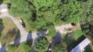 Riding The Pwoer Line, And I crashed my drone.