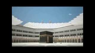 Grand mosque kaaba ........Model of umbrella on kaaba