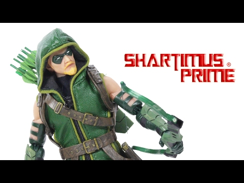 Mezco Toyz Green Arrow One:12 Collective 6 Inch DC Comics Action Figure Toy Review