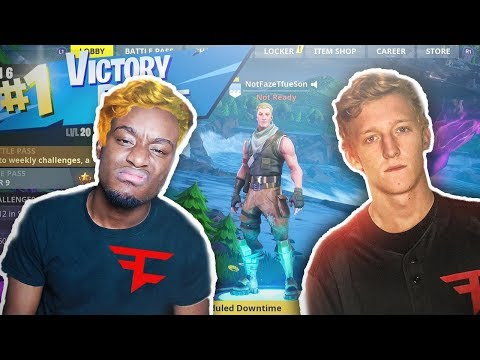 I pretended to be FaZe Tfue s Lost Son for 24 Hours in random games