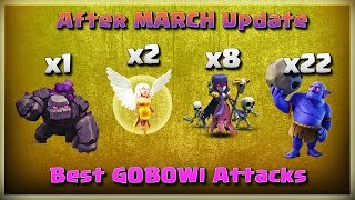 Best GOBOWI Attacks in COC | TH11 War Strategy #201 | After MARCH Update | COC 2018 |