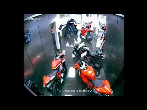 video Bila Pencuri Amatur Nak Rembat Ducati