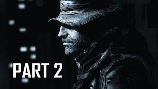 Call of Duty 4 Modern Warfare Remastered Walkthrough Part 2 - The Bog & Hunted (COD4 Campaign)