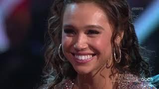 "HD Alexis Ren and Alan ""Salsa"" - DWTS Week 2 Night 2 | Season 27"