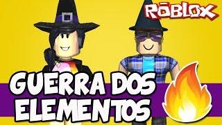 GUERRA DOS ELEMENTOS MÁGICOS! - Roblox (Elemental Wars)