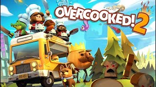 Overcooked 2 - Part 1 Rise of the UNBREAD! (Nintendo Switch)