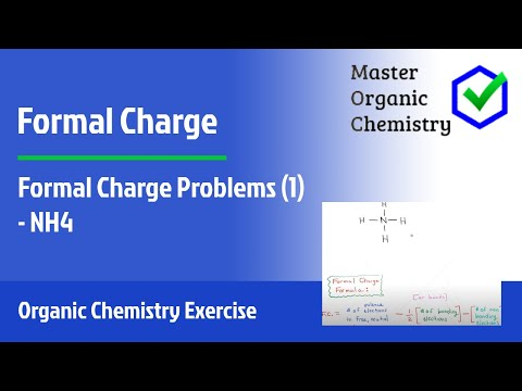 Formal Charge Problems (1) - NH4