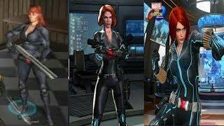 Evolution of Black Widow in games [ 2005 - 2017]