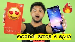 Redmi Note 6 Pro Unboxing - First Impressions - Camera Samples | Malayalam | Nikhil Kannanchery