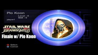 Star Wars Episode I: Jedi Power Battles Plo Koon - Finale