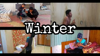 Things Happen During Winter || Funny Video || Masti Unlimited ||