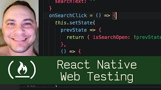 React Native Web Testing (P7D9) - Live Coding with Jesse
