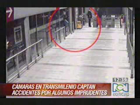 Accidentes en TrasMilenio