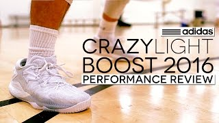 adidas CrazyLight Boost 2016 - Performance Review