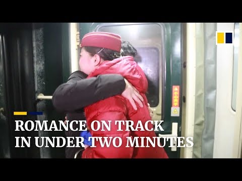 Xxx Mp4 Chinese Railway Workers Get Romance On Track In Less Than Two Minutes 3gp Sex
