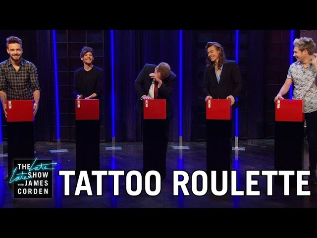 Tattoo Roulette mit One Direction