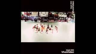 dance on lal shobujer bijoy nishan