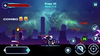 Stickman Ghost 2 : Galaxy Wars _ Kill Boss 4