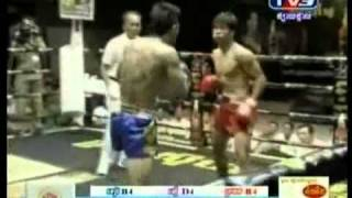 Khmer boxing,Ot Phuthong vs Long Sovandoeun