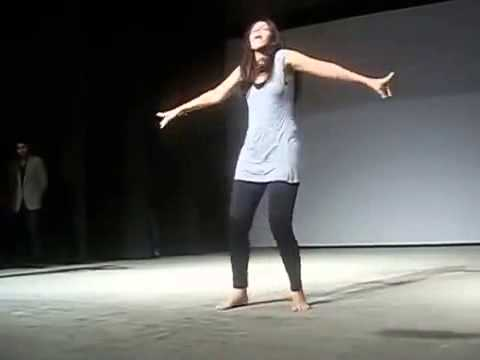 This College GIRL Shows You The Most SPICY Dance  Dont Blink Your Eyes   LadduZ com