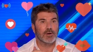 OMG! Simon Got The HOTS For This Woman! Look At His FACE!