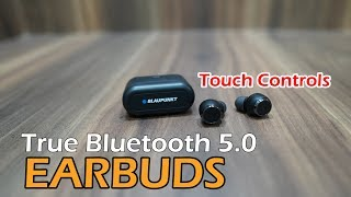 Blaupunkt BTW01 True Wireless HD Sound Bluetooth Earbuds With Touch Controls For Rs. 4,999