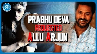 Allu Arjun  To Debut In Bollywood -  Prabhu Deva | Remo D'Souza