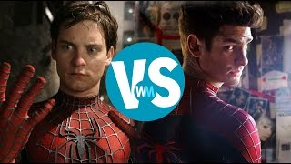 Tobey Maguire vs. Andrew Garfield as Spider-Man